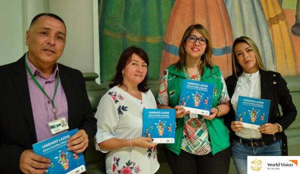 Asistieron representantes de las organizaciones aliadas (ICBF, World Vision y Gobernación de Antioquia)